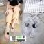 รองเท้าแตะส้นแบน jelly sandals TIT01-WHI [สีขาว] thumbnail 1