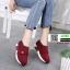 รองเท้าผ้าใบไร้เชือก chanel sneaker 8202-301-RED [สีแดง] thumbnail 3