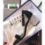 รองเท้าส้นสูงรัดส้น วัสดุผ้าสักหลาด ST-12-BLK [สีดำ] thumbnail 3
