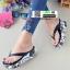 รองเท้าแตะคีบญี่ปุ่น V1009-ดำ [สีดำ] thumbnail 2