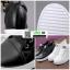 รองเท้าผ้าใบผู้หญิง สวมหนังนิ่ม SG-136 [สีดำ] thumbnail 4