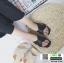 รองเท้าแตะแฟชั่น สวมใส่ง่าย สายไขว้ G-1459-BLK [สีดำ] thumbnail 2