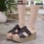 รองเท้าสวมส้นเตารีด ST998-BLK [สีดำ] thumbnail 2