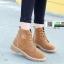 รองเท้าบูทมาร์ตินนำเข้า สไตล์เกาหลี CNC-539-BWN [สีน้ำตาล] thumbnail 3