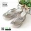 รองเท้าแตะแบบหนีบ ส้นโฟม JK8011-GRY [สีเทา] thumbnail 4