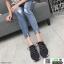 รองเท้าผ้าใบแฟชั่นงานผ้าจ้าา W88065-BLK [สีดำ] thumbnail 1