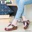 รองเท้าสุขภาพพื้นนิ่มใส่สบาย PF2064-BRN [สีน้ำตาล] thumbnail 1