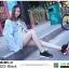 รองเท้าผ้าใบสุขภาพหุ้มยางยืดข้อสั้น 322-BLK [สีดำ] thumbnail 2