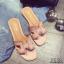 รองเท้าแตะเปิดส้น สไตล์ H ฉลุลาย G-1415-PNK (สีชมพู) thumbnail 2
