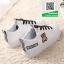รองเท้าผ้าใบแฟชั่นสีขาว กรีนนูนหมีmoschino (สีขาว ) thumbnail 5