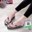 รองเท้าหูคีบพื้นเตี้ย งานสุขภาพ บุนวม 2300-เทา [สีเทา] thumbnail 1