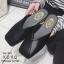 รองเท้าแตะแบบสวม หน้าตัด G-1190-BLK [สีดำ] thumbnail 2