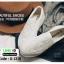รองเท้าผ้าใบส้นเสมอ เย็บเกล็ดปลา G-1316-WHI [สีขาว] thumbnail 3