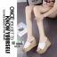 รองเท้าส้นเตารีด 0219-WHITE [สีขาว] thumbnail 2