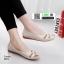 รองเท้าคัชชู เพื่อสุขภาพ มีไซส์ 41 3076-ครีม [สีครีม]