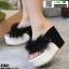 รองเท้าหูคีบส้นเตารีด ST821-BLK [สีดำ] thumbnail 1
