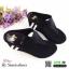 รองเท้าลำลองส้นเตารีดแบบคีบ M1822-BLK [สีดำ] thumbnail 2