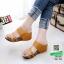 รองเท้าเตารีด 2 ตอน 961-58-น้ำตาล [สีน้ำตาล ] thumbnail 2