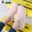 รองเท้าผ้าใบงานผ้าทรงกระชับเท้า 1733B6-PNK [สีชมพู] thumbnail 2