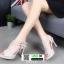รองเท้าส้นสูงรัดส้น T-Strap G5276-GRY [สีเทา] thumbnail 3