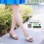 รองเท้าส้นสูง เปิดส้น ส้นตัน SM9031-GLD [สีทอง] thumbnail 2