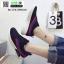 รองเท้าผ้าใบสไตล์เกาหลี IM0223-BLACK [สีดำ] thumbnail 5