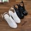 รองเท้ารัดส้นเปิดท้ายส้นแท่ง ST005-WHI [สีขาว] thumbnail 5