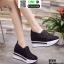 รองเท้าผ้าใบเสริมส้นแบบสวม ST319-BLK [สีดำ] thumbnail 1