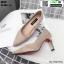 รองเท้าคัชชูส้นสูง K9330-CRM [สีครีม] thumbnail 2