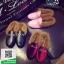 รองเท้าคัทชูเปิดส้นสีดำ สไตล์กุชชี่ (สีดำ ) thumbnail 3
