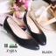 รองเท้าคัชชูรุ่นคลาสสิคยอดฮิต style ZARA 361217-BLK [สีดำ]