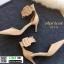 รองเท้าส้นสูง หัวแหลม รัดข้อ 211-9-APR [สีแอปริคอท] thumbnail 2