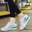 รองเท้าผ้าใบเสริมส้น ST010-GRN [สีเขียว] thumbnail 2