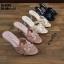รองเท้าส้นสูงแบบสวม 18-3449-BLK [สีดำ] thumbnail 3