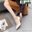 รองเท้าคัชชูหนังลายวัว K9080-CRM [สีครีม] thumbnail 2