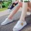 รองเท้าผ้าใบสวมเปิดท้าย ST2991-BLK [สีดำ] thumbnail 5