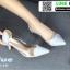 รองเท้าคัทชูหนังแก้ว หัวใจใส B13-511-BLU [สีน้ำเงิน]