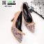 รองเท้าคัชชูหัวแหลม B1118-8-KAKI [สีกากี] thumbnail 2