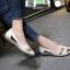 รองเท้าคัชชู สไตล์สุขภาพ 18-1373-WHI [สีขาว] thumbnail 3