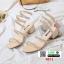 รองเท้าส้นสูงแกลดดิเอเตอร์ 0074-CREAM [สีครีม] thumbnail 2