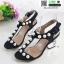 รองเท้าส้นสูง สไตล์เกาหลี 2767-5-BLACK [สีดำ] thumbnail 3