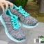 รองเท้าผ้าใบ ทรงสปอร์ต SM9026-GRN [สีเทา] thumbnail 1