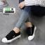 รองเท้าผ้าใบแฟชั่น Style FILA สายรัดเมจิกเทป 1720-BLK [สีดำ] thumbnail 5