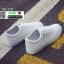 รองเท้าผ้าใบหนัง pu ปักลายใบไม้ SG-170-SIL [สีเงิน] thumbnail 2