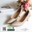 รองเท้าคัชชูหัวแหลมส้นสูง G18-05-GLD [สีทอง] thumbnail 3