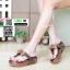 รองเท้าเพื่อสุขภาพ ฟิทฟลอปหนีบฟิทฟลอบพื้นนูน L2679-BRN [สีน้ำตาล] thumbnail 1