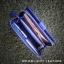 กระเป๋าสตางค์ผู้หญิง ใบยาวสวยงาม สีน้ำเงินสด หนังวัวแท้แสนนุ่ม ทนทาน โดนน้ำได้ ไม่ลอกร่อน พร้อมกล่องแบรนด์แท้ Moonlight thumbnail 2