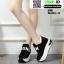 รองเท้าผ้าใบเสริมส้น งานนำเข้า100% ST09-BLK [สีดำ] thumbnail 3
