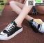 รองเท้าผ้าใบเปิดท้าย ST610-BLK [สีดำ] thumbnail 2