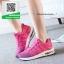 รองเท้าผ้าใบแฟชั่นสีชมพู NEW SPORT SNEAKERS (สีชมพู ) thumbnail 3